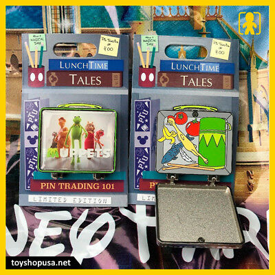 Disney Parks Lunch Time Tales The Muppets Lunchbox Pin LE In Hand