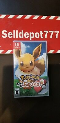Pokémon: Let's Go, Eevee! - Nintendo Switch Brand New! Same Day Shipping