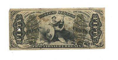 Civil War 1863 $.50 Fractional Currency