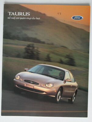 FORD TAURUS 1998 dealer brochure - French - Canada - ST1002000318