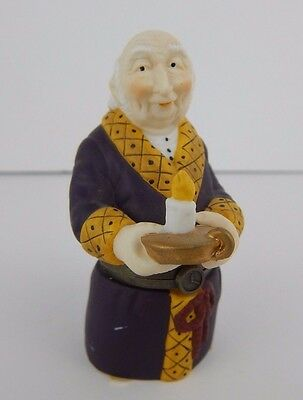 Dept 56 Heritage Village Collection Bah Humbug! Trinke Box #58430 Good Condition