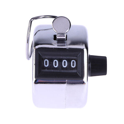 Golf Hand Held Tally 4-Digit Number Clicker Sport Counter Counting Recorder New