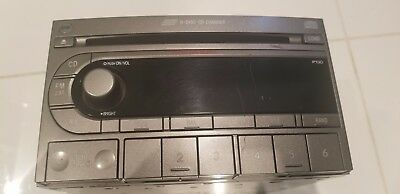 2004 to 2006 Subaru Forester AM FM Radio 6 Disc CD Player Factory OEM 04 05 06