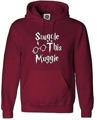 Snuggle This Muggle Harry Potter Inspired Unisex Hoodie Adult & Kids Sizes