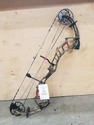 2018 PSE BOW Madness Epix Compound Bow Black Right Hand 70#