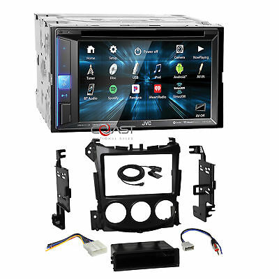 JVC 2018 Sirius Spotify Bluetooth Stereo Dash Kit Harness for 09+ Nissan 370Z