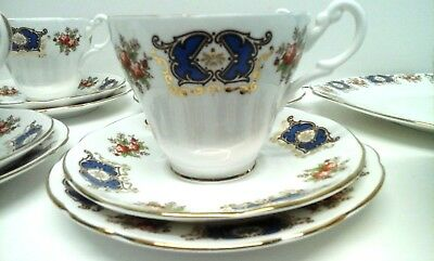 Royal Sutherland H & M Fine Bone China - Tea Set - 20 Pieces - Lovely Design