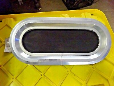 Portlight Elliptical Ventilation 17.5 x 6.75 Cut Out Boat Parts