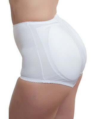 4ab7b42164b Rago Shapewear Rear Shaper Panty Brief Shaping With Removable Contour Pads  White