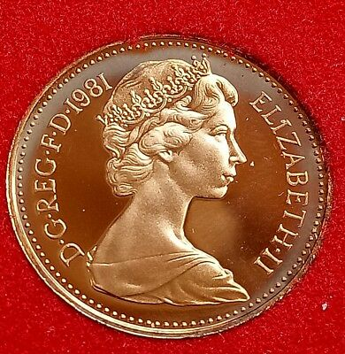 1981   Royal Mint Proof  1p  from Royal Mint Set