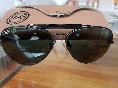VINTAGE ORIGINAL RAY.BAN AVIATOR SUNGLASSES..1970's era
