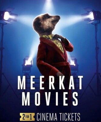 2 for 1 Meerkat Cinema Tickets CODE for TUESDAYS