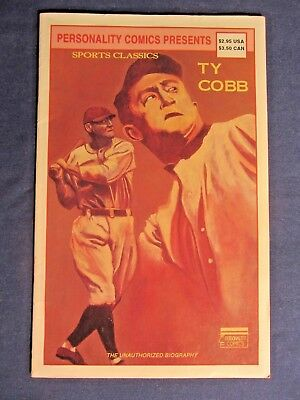 Personality Comics Presents Ty Cobb The Unauthorized Biography 1992