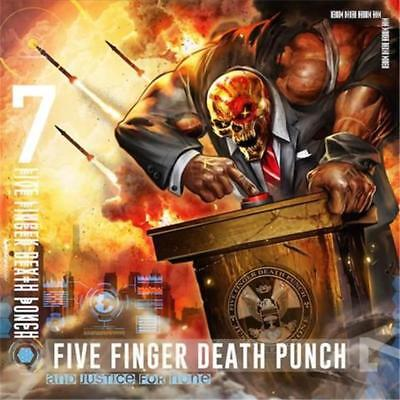 Five Finger Death Punch And Justice For None CD NEW