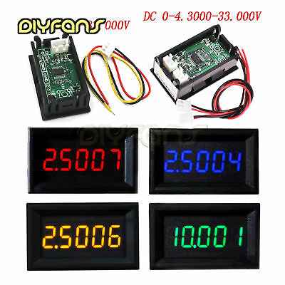 "0.36""5 Digit DC0-33.000V/0-4.3000-33.000V High Präzision Digital Voltmeter Panel"
