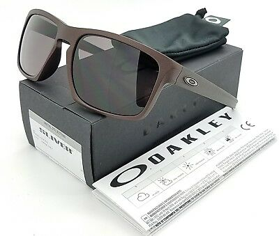 NEW Oakley Sliver sunglasses Corten Warm Grey AUTHENTIC burgundy red 9269-11