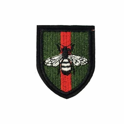 Iron On Six Stars Bee Flag Embroidery Applique Patch Sew Iron Badge