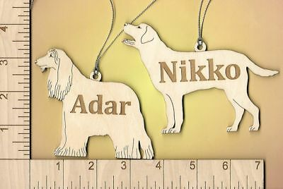 Personalized Ornament of any of my magnets in my store Dog Cat or other Animal