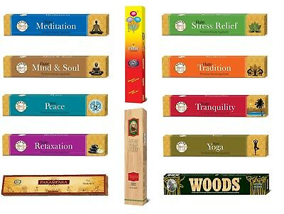 Flute Incense Sticks Joss Aromatherapy Natural Masala Incredible Collection