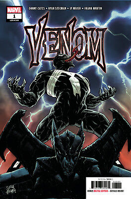 VENOM #1 COMIC (Marvel 2018) DONNY CATES STEGMAN 1st print - NM