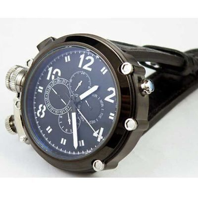 50MM PARNIS black sterile dial date week left crown PVD Automatic men's watch
