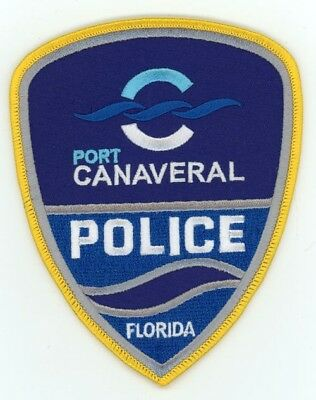 Port Canaveral Police Florida Fl Patch Sheriff Colorful