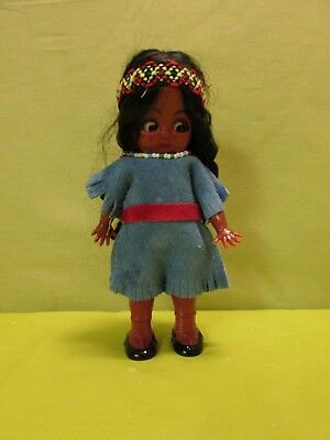 Vintage Small Native American Doll