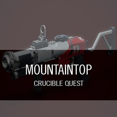 Destiny 2 Mountain Top/Luna's Howl 200 Glory points boost [PS4 / XBOX / PC]