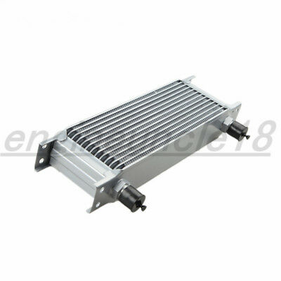 13 Row AN10 -10AN AN-10 Universal Mocal Style Engine Transmission Oil Cooler AU