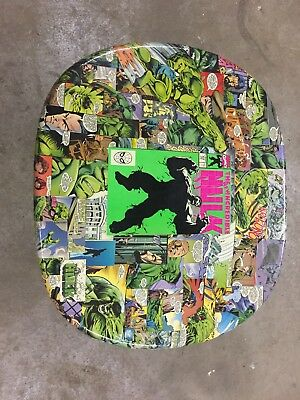 Incredible Hulk Comic Book End Table