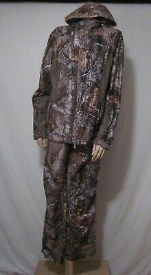 5701a29432865 Cabelas Women's OutfitHER 4Most Parka + Pants Mossy Oak Break-Up Infinity  Sz XL