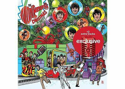 The Monkees Christmas Party CD Target Exclusive 2 Bonus Track SOLD OUT IN STORES