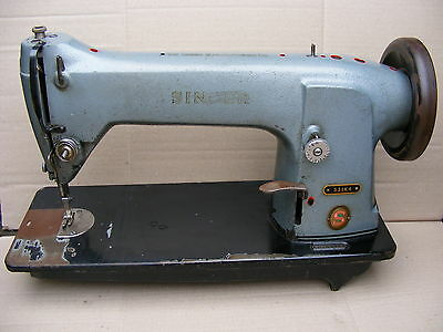 Vintage Singer 331K4 Industrial Heavy Duty Straight Stitcher Sewing Machine Body