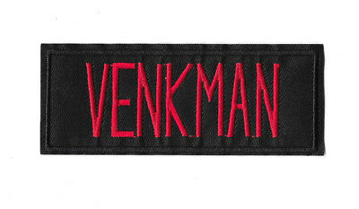 VENKMAN Iron on / Sew on Patch Embroidered Badge Cartoon Ghostbusters PT463