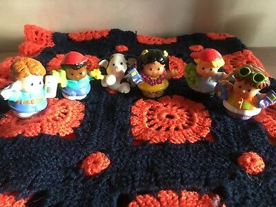 Fisher Price Little People Lot -6 Personnages & Animaux