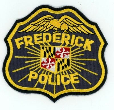 Frederick Police Maryland Md Patch Sheriff Colorful
