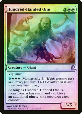 HUNDRED-HANDED ONE Magic THS Mint Theros CENTIMANO
