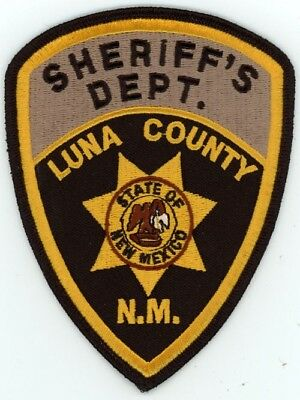 Luna County Sheriff New Mexico Nm Patch Police Colorful