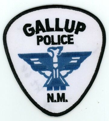 Gallup Police New Mexico Nm Patch Sheriff