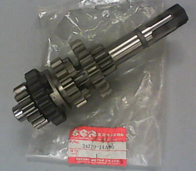 Suzuki Dr600 / Sp600 1985 Countershaft Assy 24120-14A00 New Original Suzuki Part