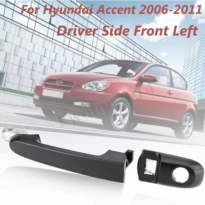 For 06-11 Hyundai Accent Front Left Driver Side Exterior Outside Door Handle LH
