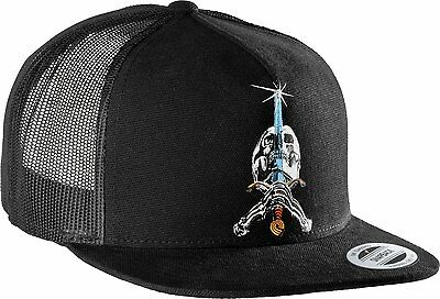 Powell Peralta - Skull & Sword Trucker Cap Black