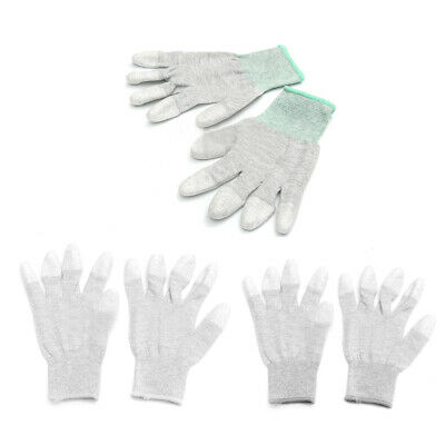 Anti Static Anti Skid ESD Electronic Labor Working Glove PC Computer Repai Y6S9)