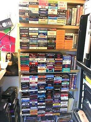 VHS Movie Sale- 4 Movies for $11 (no shipping) Build yr collection, Feed yr VCR!