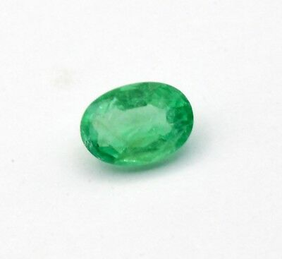 0.61 Ct 100% Natural Emerald Loose Octagon cut Ethiopian Gemstone