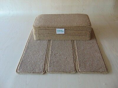 15 Open Plan Stair Carpet Pads treads 56 cm X 23 cm  #2996-5
