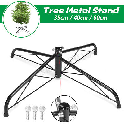6/7/10 FT Iron Stand  Base Hard Green Metal Holder Cast For Christmas Tree