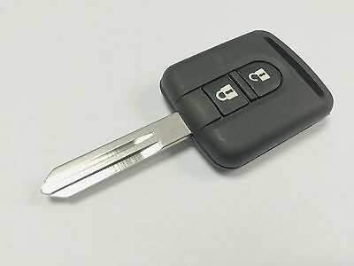 Replacement 2 button key case for Nissan Micra Navara Note X-Trail 350z remote