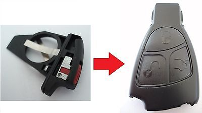 Replacement battery case holder for Mercedes 2 3 button remote A C E S Class