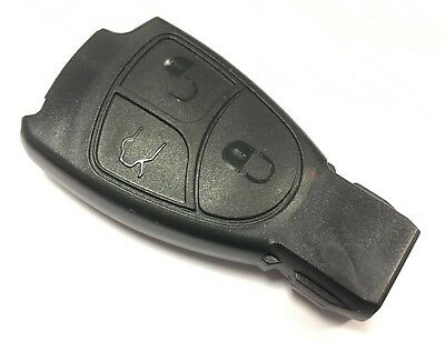 Replacement 3 button case for Mercedes C E S V CLK CLS SL Class remote key